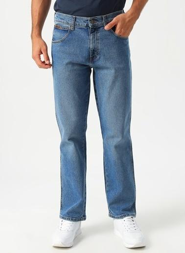 Lee&Wrangler Lee & Wrangler Texas Mavi Denim Pantolon Mavi